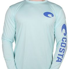 d16983edd8021 Performance Core Long Sleeve T-Shirt in Mint by Costa Del Mar