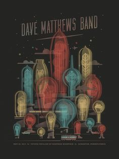 35 Stunning Gig Poster Designs | From up North