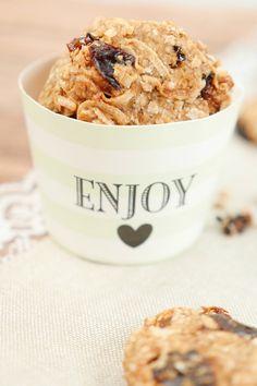 Gesunde Haferflocken-Kekse zur Detox-Kur