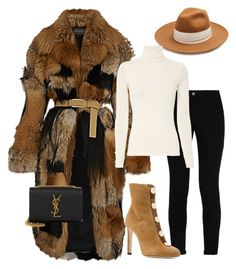 """""""Fur Szn #Winter17"""" by mh3914rp on Polyvore featuring Federica Moretti, STELLA McCARTNEY, Jimmy Choo and Yves Saint Laurent"""