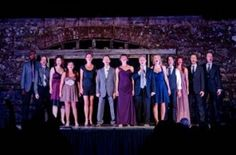 """""""Broadway Under the Stars"""" at Jack London State Park. Outdoor performance featuring Broadway professionals."""