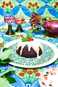 Cannellini Bean Christmas Pudding #glutenfree #grainfree