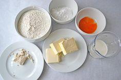 Zutaten für einen Germteig Dairy, Gabriel, Food, Oatmeal, Food And Drinks, Food Food, Backen, Archangel Gabriel, Meal