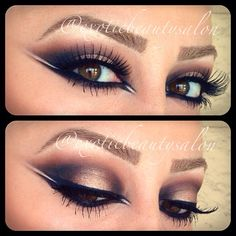 Double Winged liner!