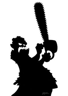More Free Maniacal Window Silhouette Printables- thanks Dave Lowe!