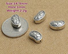 Antique 925 Sterling Silver Bali Style SS Spacer by fantasy369