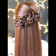 Beautiful Hairstyles Cool and easy hairstyles for long hairs. Related Post ▷ 1001 + ideas for beautiful hairstyles + DIY inst. Prom Hairstyles For Long Hair 62 Easy Hairstyles Step by Step DIY 30 Braided Hairstyles for Short Hair Easy Hairstyles For Long Hair, Girl Hairstyles, Braided Hairstyles, Beautiful Hairstyles, Hairstyles Videos, Medium Hairstyle, Wedding Hairstyles, Long Haircuts, Black Hairstyles