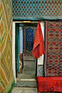 Rug Shop in Tunis