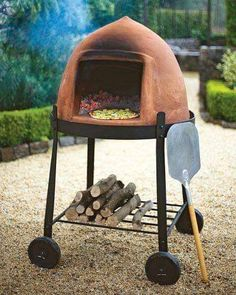 Wood Fired Oven, Wood Fired Pizza, Pizza Oven Outdoor, Outdoor Cooking, Portable Pizza Oven, Grill Diy, Bread Oven, Fire Pizza, Outdoor Kitchen Design