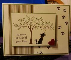 Kitty Sympathy DIM 8-21-2014 by jdmeeks - Cards and Paper Crafts at Splitcoaststampers: