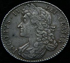 1688 - James II (obverse)