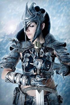 Somewhat like Altarn's armor in my novel, The War Queen, minus the headpiece.