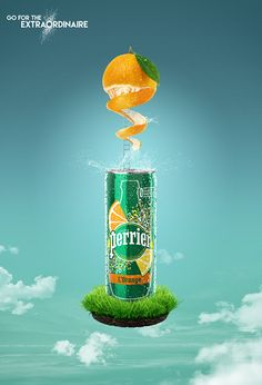 PERRIER Flavors on Behance Ads Creative, Creative Posters, Creative Advertising, Advertising Design, Creative Design, Advertising Campaign, Food Poster Design, Sports Graphic Design, Graphic Design Posters