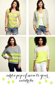 neon. #stripes