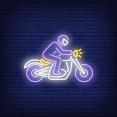 Man riding motorcycle on brick background. Iphone Wallpaper Travel, Funny Phone Wallpaper, Cute Black Wallpaper, Neon Wallpaper, Instagram Symbols, Instagram Logo, 4k Wallpaper For Mobile, Neon Design, Purple Aesthetic