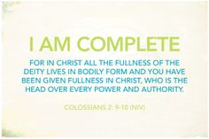 I AM statements from Phillipians 4:8-9