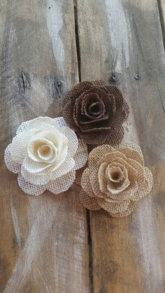 Best 12 RiscaWin Pcs) Crafts Handmade Burlap Rose Flowers DIY Findings Shabby Chic Flowers *** Click image for more details. Jute Flowers, Shabby Chic Flowers, Diy Flowers, Fabric Flowers, Flowers Nature, Rustic Flowers, Felt Flowers, Wedding Cake Roses, Wedding Cakes With Flowers