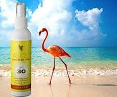 Aloe Sunscreen Spray – Protezione Solare Spray all'Aloe Vera