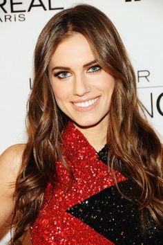 It's a classic move that always works: Make your eye color stand out from afar by doing a tight, thin rim of contrasting black liner on the top and bottom. Here, Allison Williams wears L'Oréal Paris Voluminous Smoldering Eyeliner in Black ($8).