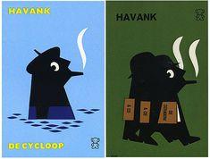 Dick Bruna book covers #DickBruna #illustration