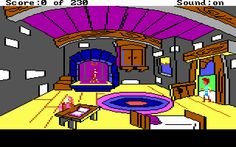 Sierra PC games: The Black Cauldron the game