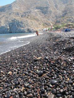 Black sea, Kamari santorini