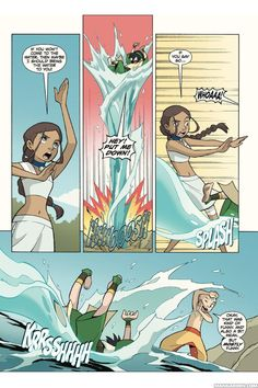 Read Avatar: The Last Airbender - The Lost Adventures 9 Online For Free in English: Dirty Is Only Skin Deep - page 4 - Manga Eden Avatar Airbender, Avatar Aang, Make Avatar, The Last Avatar, Avatar Funny, Team Avatar, Avatar Fan Art, Avatar World, Free Comic Books