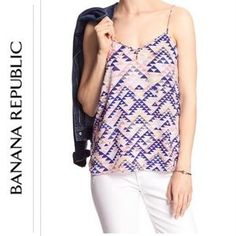 I just discovered this while shopping on Poshmark: 🎉FLASH SALE🎉 🆕Banana  Republic Tank Top. Check it out! Price: $32 Size: L