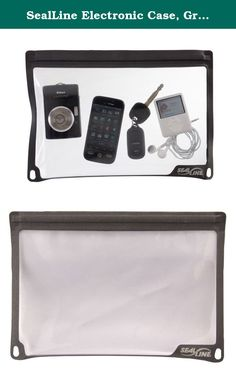 SealLine Electronic Case, Gray, Large. Made with flexible, PVC-free material and now available in new sizes, the Electronic Case protects a wide range of valuable gear. Waterproof SealLock zipper closure provides fast, easy access.