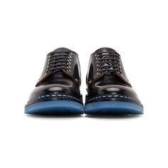 OAMC Black & Navy Officer Heschung Edition Derby Shoes