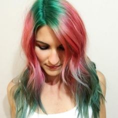 17 Of The Prettiest Hair Trends We Saw This Year. Watermelon by HairbyKotay