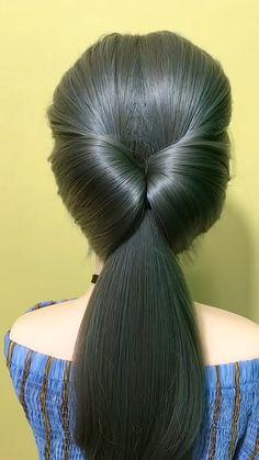 #braidstyles #hairideas #hairvideos #braidedhair #videotutorial #hairstyles Cute Hairstyles For Medium Hair, Medium Hair Styles, Braided Hairstyles, Cool Hairstyles, Front Hair Styles, Curly Hair Styles, Blonde Hair Looks, Hair Upstyles, Long Hair Video