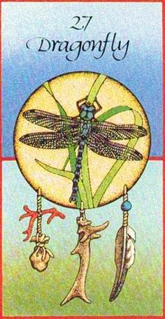 Dragonfly ...  Breaks illusions,  Brings visions of power,  No need to prove it,  Now is the hour!   Know it, believe it,  Great Spirit intercedes,   Feeding you, blessing you, Filling all your needs.