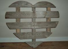 DIY hart pallet