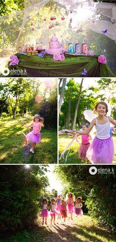 styled shoot fairy party  - elena k photography