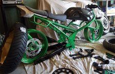 KARNAGE KUSTOMZ + custom metric choppers bobbers cafe racers yamaha xs honda cb kawasaki kz: April 2011
