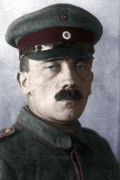 Adolf Hitler during WWI