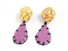 """CONTEXT Galeria - Eva Burton - arracades-pendientes-earrings """"In Blossom II"""""""