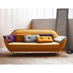 FAVN Sofa by Jaime Hayón for Fritz Hansen. #furniture #sofa #creative #design #ideas #designer #jaimehayon #fritzhansen #interior #interiordesign #product #productdesign #instadesign #style #art #furnituredesign #prodeez #industrialdesign
