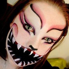 Halloween makeup idea #1