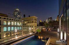 Original Endless Pools® - rooftop pool in SoHo, NYC