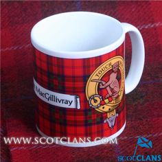 MacGillivray Crest & Tartan Mug