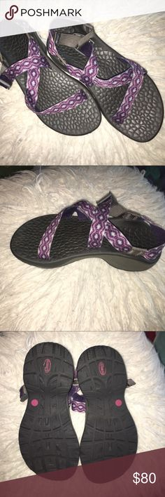 LIKE NEW Chaco's These shoes have only been worn around my house and are in perfect condition! They are a women's 5 but can also fit a 5.5! Chaco Shoes Sandals