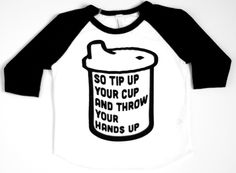 Hip Hop Toddler Tee Sippy Cup