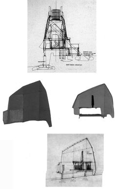 architecture drawing peter salter japan sections