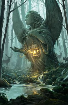 Forest Angel by Andrew Bosley