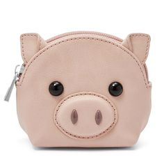 This adorable critter coin purse from Relic is full of whimsical charm. Disney Inspired Fashion, Mini Pigs, Cute Piggies, This Little Piggy, Pencil Bags, Cute Bags, Wallets For Women, Purses And Bags, Coin Purses