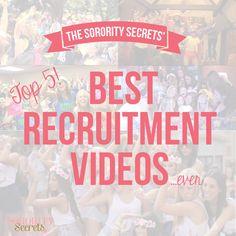 The Sorority Secrets: Top 5 Best Recruitment Videos