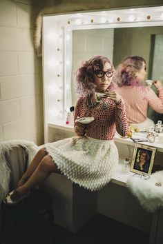 HerCanberra Issue No.2: The World's a Stage. Celebrating 50 years of theatre in the capital. Starring Zoe Brown as DAME EDNA EVERAGE.