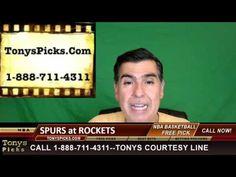 San Antonio Spurs vs. Houston Rockets Pick Prediction NBA Pro Basketball...